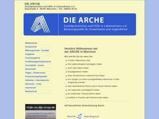 DIE ARCHE Suizidprävention und Hilfe in Lebenskrisen e.V.