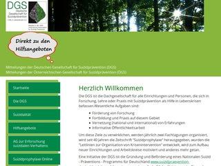 Deutschen Gesellschaft für Suizidprävention