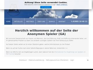 Anonyme Spieler (GA) Interessengemeinschaft e. V.