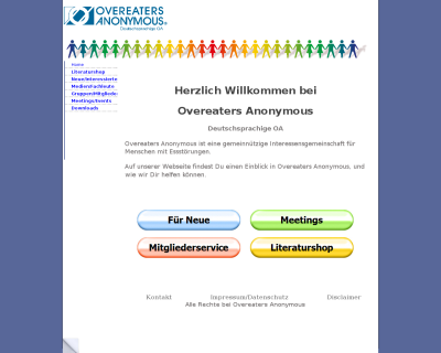 Overeaters Anonymous Selbsthilfegruppe in Dortmund