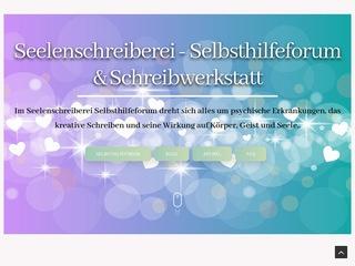 Seelenschreiberei: Selbsthilfeforum & Schreibwerkstatt
